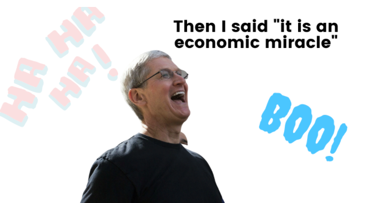 Tim Cook calls App Store an economic miracle